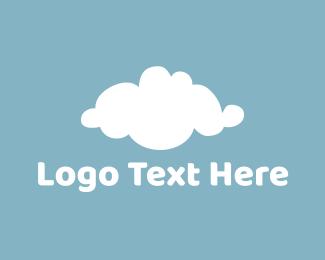 Upload - White Cloud logo design