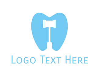 Dental - Dental Hammer logo design