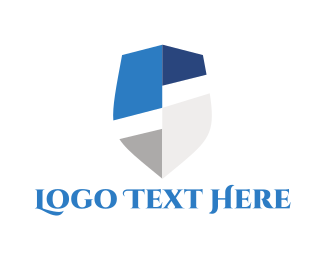 Guarantee - Modern Shield logo design