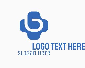 Wearable - Letter B Plus logo design