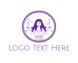 Magic - Angry Witch logo design