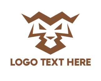 Competition - Angry Tiger Abstract  logo design