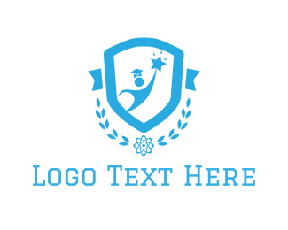 Student - Education Emblem  logo design