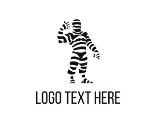 Mummy Costume Logo