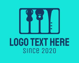 Trumpet - Music School logo design
