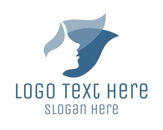 Blue Face Logo
