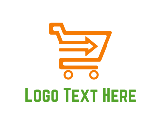 Shop - Direct Shopping logo design