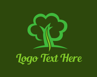 Pharma - Green Tree Life logo design