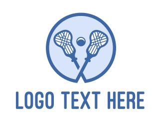 """""""Blue Lacrosse Sticks"""" by podvoodoo13"""