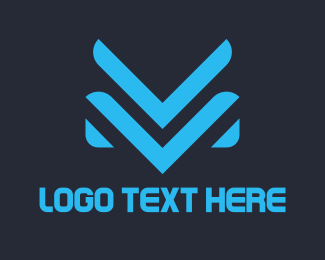 Trendy - V & M logo design