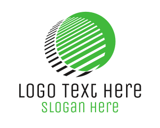 Shadow - Round Green Shadow logo design