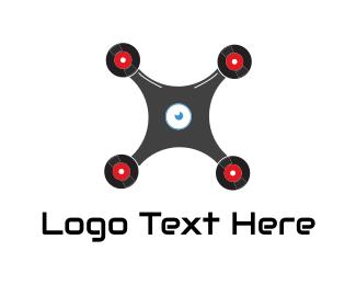 Record Label - Drone Record logo design