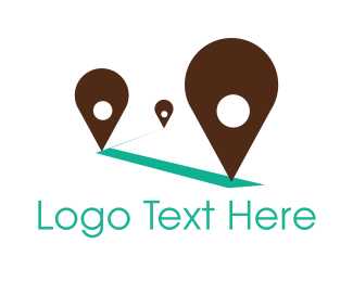 Point - Travel Spots logo design