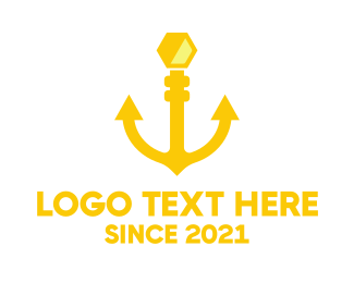 Seaman - Honey Anchor logo design
