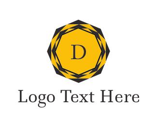 Sharp - Diamond Letter D logo design