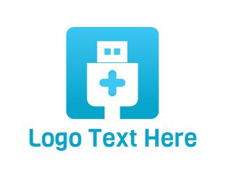 Device - Tech Hospital logo design