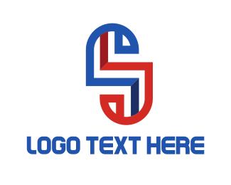 Labyrinth - Maze Letter S logo design
