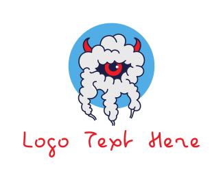 Devil - Smoky Eye Devil logo design