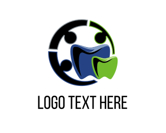 Orthodontist - Dental Circle logo design