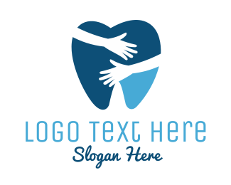 Dental - Dental Hug logo design