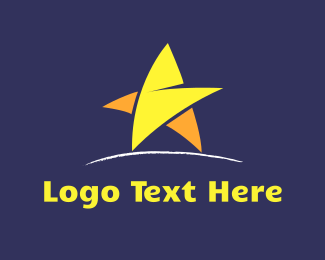 Walk - Walking Star logo design