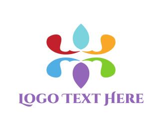 Floral - Floral Emblem logo design