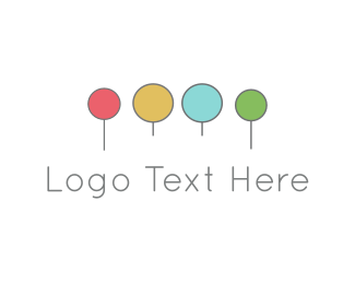 Lollipop - Colorful Circles logo design