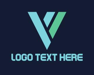 Letter V - Letter V logo design
