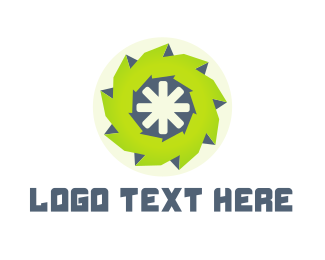 Programmer - Green Wheel logo design