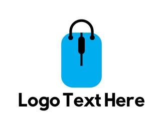 Coupon - Shop Tag Bag logo design