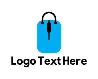 Shop - Shop Tag Bag logo design