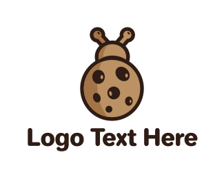 Edibles - Cookie Bug logo design