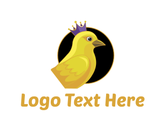 Royal - Royal Canary logo design