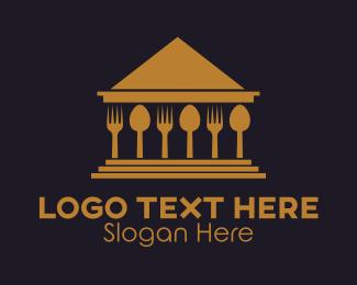 Court - Food House logo design
