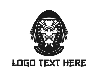Demond - Evil Ninja logo design