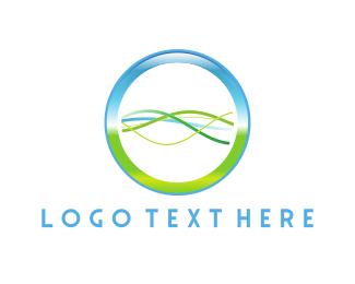 Biology - Genetic Chain logo design