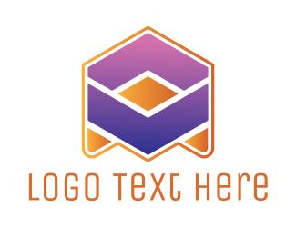 Banking - Abstract Arrow A logo design