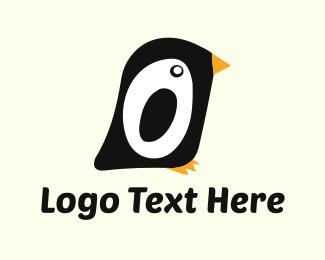 Little - Little Penguin logo design