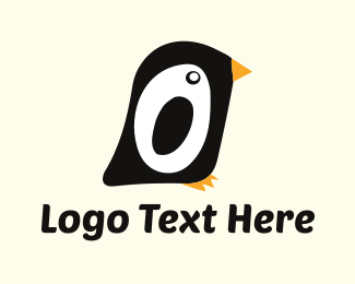 Birdie - Little Penguin logo design