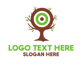 Cheap - Tree Target logo design