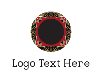 Antique - Floral Bowl logo design