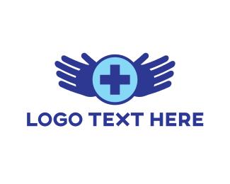 Physician - Healing Hands logo design