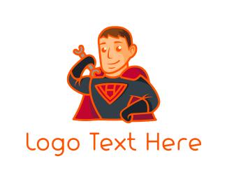 Wrench - Super Handyman logo design