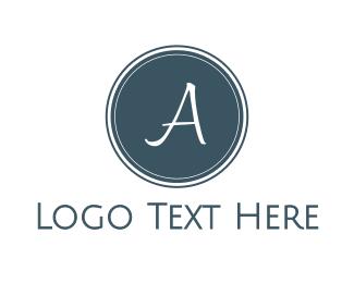 Hotel - Blue A Circle logo design