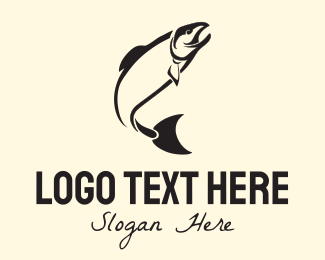 Fish - Black Tuna logo design
