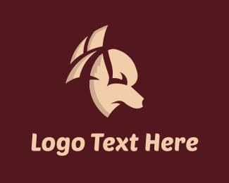 Pet Shop - Dog Silhouette logo design