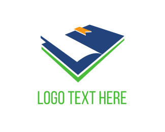 Bookmark - Blue Book logo design