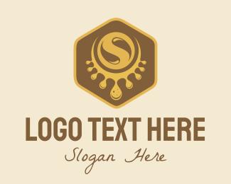 Badge - Sweet Hexagon logo design