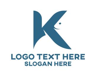 Aquatic - Aquatic Letter K logo design