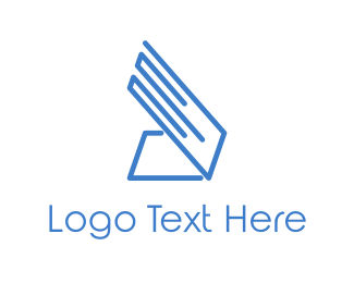 Hardware - Blue Laptop logo design